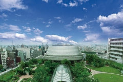 OCAT屋上庭園4600㎡設計デザイン&維持管理