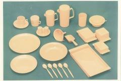 タケヤ化学工業「テーブルウェアシリーズ」 1970年