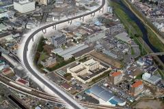 阪神高速京都線CG動画 案内板デザイン