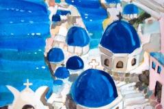 エーゲ・サントリーニ島