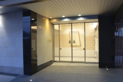 Entrance of MD Housing 新築 2014年
