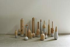 木即水水即木 材料:ミクストメディア
