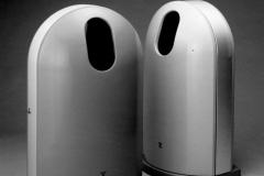 大阪市御堂筋仕様屑入れ  日本Gマーク賞・現代50年間 の日本デザイン100選選定