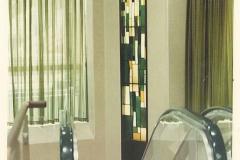 三和銀行杭瀬支店営業室のステンドグラス