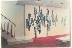 京都第2タワーホテル、ロビークリスタルガラスによる壁画