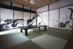 綾部の家襖絵