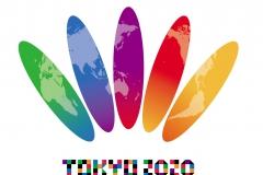 """:パラリンピック・エンブレム デザイン タイトル:可憐に咲く小菊に託した""""東京2020ひろがる夢"""" TOKYO 2020 ロゴ:市松に託した """"東京の洗練と賑わい"""""""