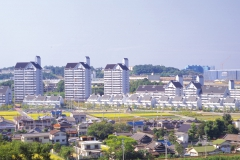 アメニティ長野住宅団地 景観デザイン 大阪都市景観建築賞特別賞
