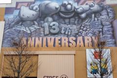 USJ 10〜15周年記念トリックアートデザイン制作