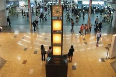 京都駅 時の灯